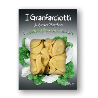 Cappellacci with Spinach and Ricotta