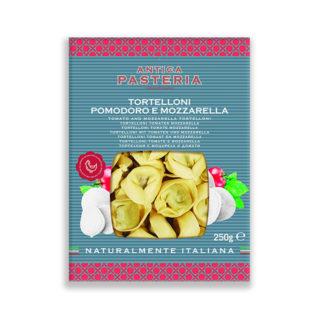 Tortelloni with Tomato and Mozzarella