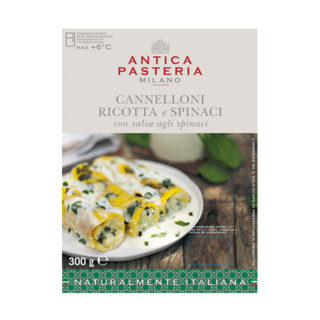 Spinach and Ricotta Cannelloni + Spinach Sauce