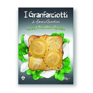 Girasoli Ricotta e Spinaci
